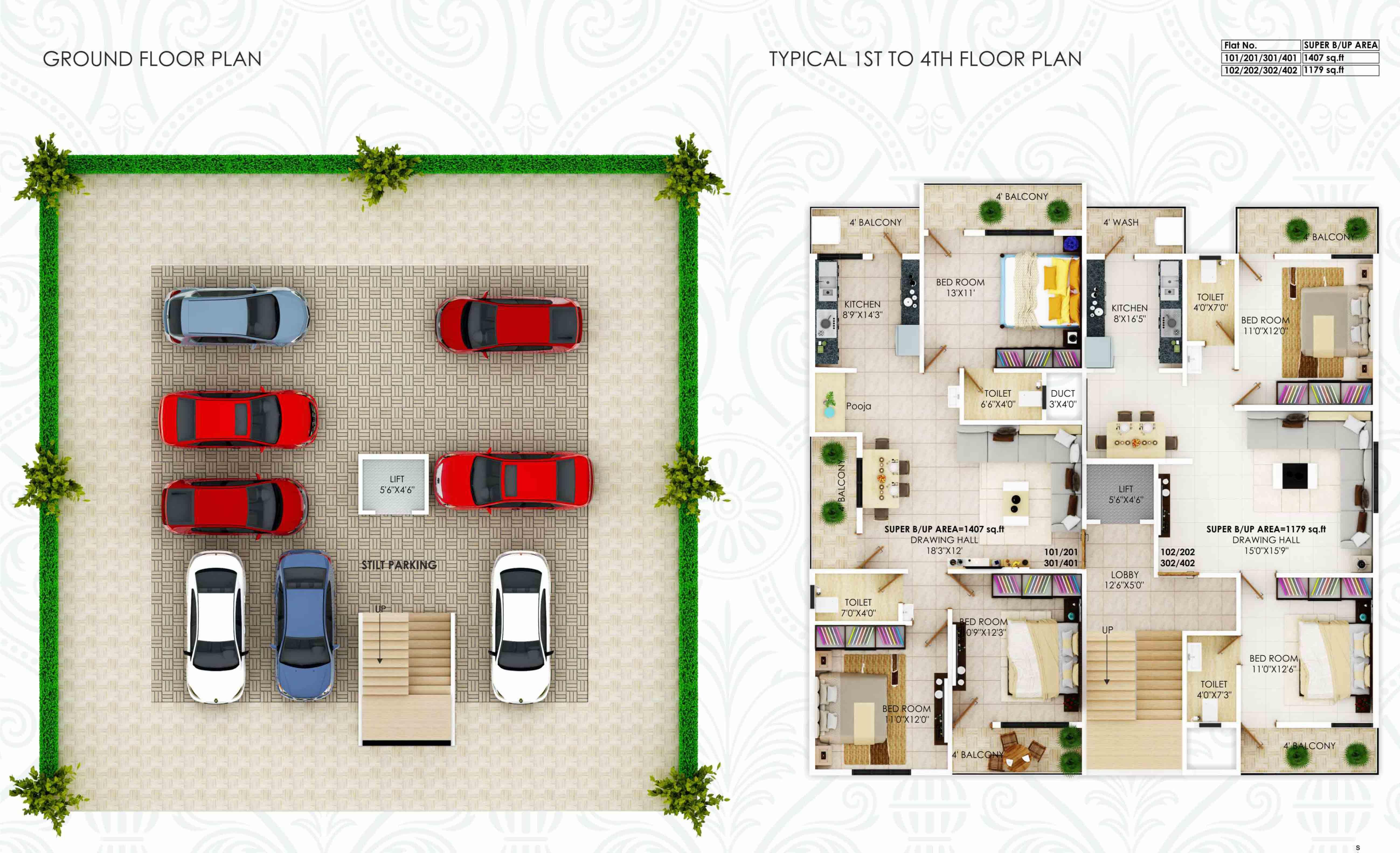 Shree Sudhakar Residency 1 and 2 (2)