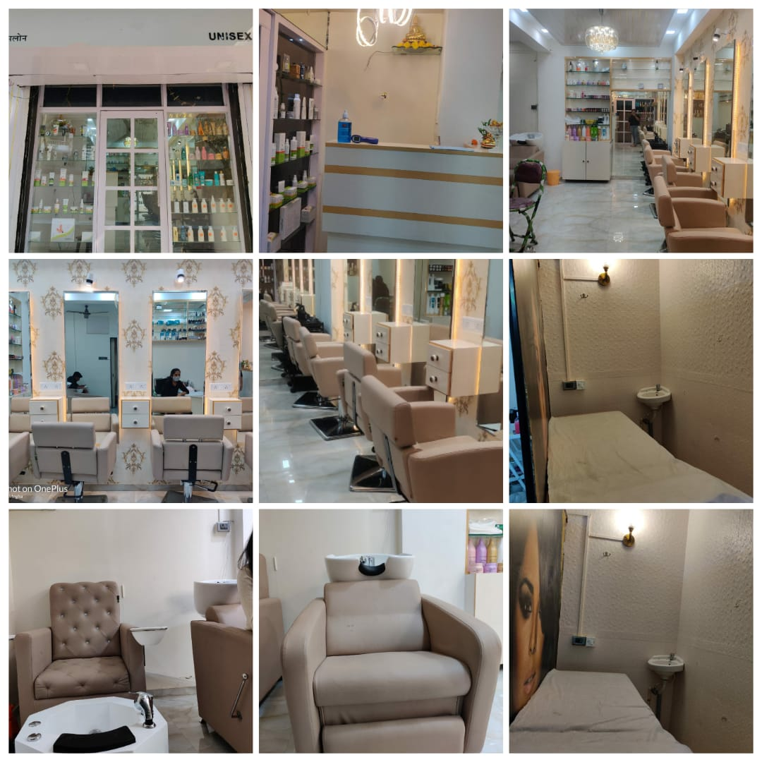 Unisex parlour for rent with  All  new setup